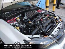 Process West Verticooler Top Mount BLACK Intercooler For 2008 - 2014 Subaru WRX