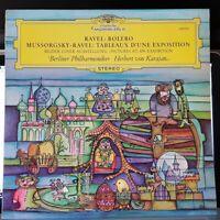 Karajan, BPO – Ravel / Bolero, Mussorgsky / Picture - 1979 LP record excellent