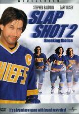 Slap Shot 2 - Breaking the Ice (DVD, 2001, Widescreen) NEW