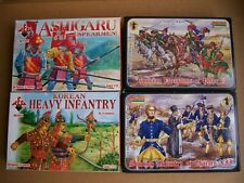 lot of Redbox Orion Revell Strelets 1/72 figures 7YW GNW