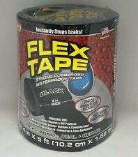 Flex Seal Strong Rubberized Waterproof Flex Tape 4 X 5 Black