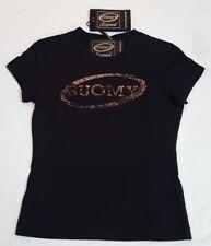 New Suomy Legends Glen Line T-Shirt Tee Top in Black Small Motorbike Motorcycle
