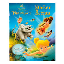 NEW Tinker Bell Legend Of The Neverbeast Sticker Scenes Book 40 STICKERS Free Po