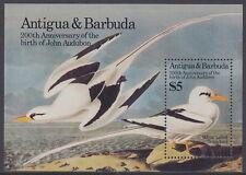 ANTIGUA AND BARBUDA - 1985 Birth Bicentenary of John J Audubon MS - UM / MNH