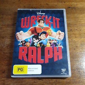 Wreck it Ralph Disney DVD R4 Like New! FREE POST