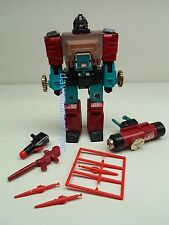 Transformers G1 Hasbro 1984 GOLD KNOBS version PERCEPTOR Action Figure Complete