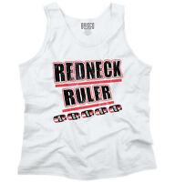 Redneck Funny Drinking Beer Drunk Joke Gift Mens Tank Tops Sleeveless Shirt Tee