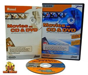 MAGIX Movies on CD & DVD PC Software MOVIE BURNING SOFTWARE