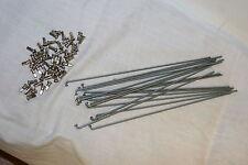 Sapim Stainless Steel Bicycle Spokes & Nipples 12 Gauge 271mm Qty18  S53