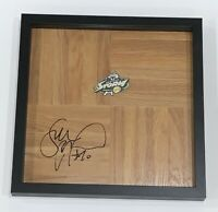 SUE BIRD SIGNED FRAMED 12X12 FLOORBOARD SEATTLE STORM AUTOGRAPHED PROOF WNBA