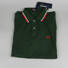 BM 3600X Size XXL Hot Men's Tipped Pique Polo Casuals Slim Fit Army Green Color