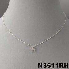 Hump Shape Charm Dainty Short Necklace Simple Unique Silver Finish Animal Camel
