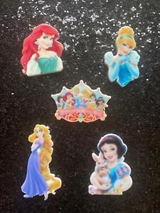 Classic Disney Princess Flatback Resins Embellishment Craft Hot Fix