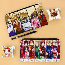 Axis Powers Hetalia APH Anime Phone Bag Pencil Case Cosmetic Gift