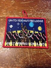Uh-To-Yeh-Hut-Tee Lodge #89 2017 Spring Conclave Oa Order of the Arrow CE-225