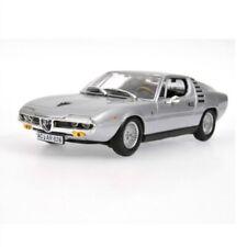 MINICHAMPS 1972 Alfa Romeo Montreal (Silver) 1/43 Scale Diecast Model NEW RARE!