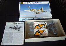1980s Vintage Revell ESCI I.A.I. KFIR C2 Israeli Fighter Bomber 1/48 Scale