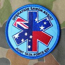 Operation Samoa Assist JTF629 - ADF Patch