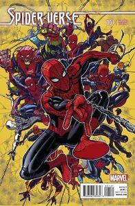 Spider-Verse #1 1:25 Bradshaw Variant