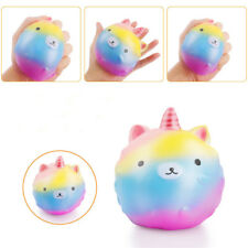 Jumbo Unicorn Slow Rising Squishies Scented Charms Kawaii Squishy Squeeze Toy AC