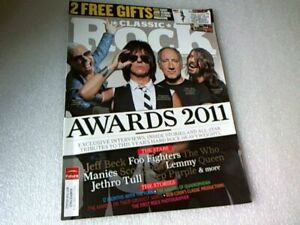 1 Classic Rock Magazine No-Issue 163 DEC 2011-AWARDS 2011 Issue ~ Cover Photo.