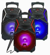 "TOP TECH AUDIO Portable 1600 Watts Peak Power 8"" Speaker FREE MICHROPHONE!!!"