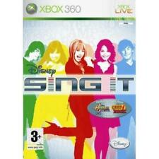 Xbox 360 -Disney Sing It Feat Camp Rock **New & Sealed** (Game Only) UK Stock
