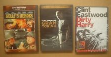 Clint Eastwood ~ 3 DVDs ~ Kelly's Heroes, Gran Torino & Dirty Harry Deluxe Ed