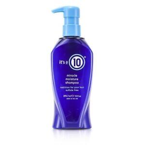 NEW It's A 10 Miracle Moisture Shampoo 295.7ml Mens Hair Care