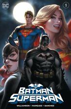 BATMAN SUPERMAN #1 WARREN LOUW EXCLUSIVE VARIANT COVER A