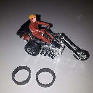 Hot Wheels Sizzlers CHOPCYCLE RUBBER GRIP TIRES WHEELS repro Canada Shipping!