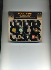 SOUL 1961 - SAM COOKE SUPREMES LLOYD PRICE JAMES BROWN CLOVERS - 4 CDS - NEW!!