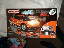 Meccano 8950 remote control car kit light music system 3 models new sealed
