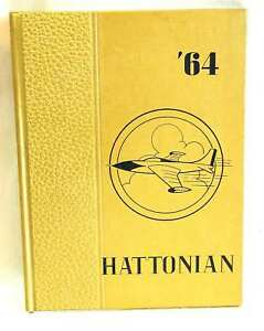 1964 Hattonian High School YEARBOOK Hatton ND FREE SH