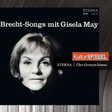 Brecht-Songs von Gisela May (2012), Digipack, Neu OVP, CD