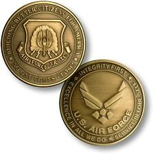 Air Force JROTC Challenge Coin Junior Reserve Officer Training Corps ROTC USAF