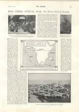 1900 Sollievo EROICI di KUMASI IMPERIAL esercito cinese Shan-hai-Kwan REGGIMENTO