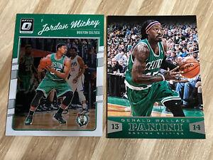 NBA Trading Card Panini Boston Celtics Jordan Wickey Gerald Wallace 2013 2016