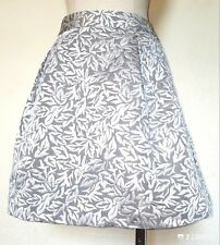 Behnaz Sarafpour for target Silver Bubble Skirt NWT Size 11