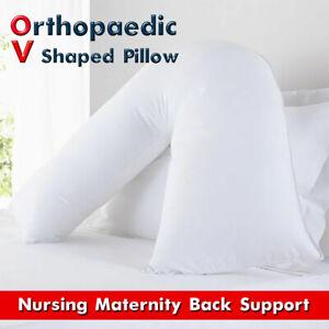 Orthopaedic Back & Neck Support V Shaped Maternity and Nursing Pillow Onesize