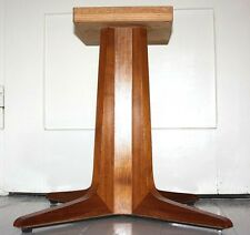 vintage mid century 60er Tischbein Tischfuß Sputnik Mutz Bauhaus Holz