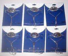 QTY 6 Brilliance Marcasite Swarovski Bracelets Hummingbirds & Hearts NEW