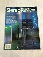 Vintage STEREO REVIEW Audiophile HIFI Magazine January 1990
