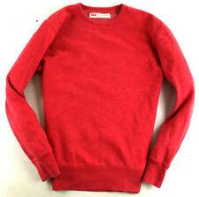 Levi's Sweatshirt Hoddie Rot Gr. L
