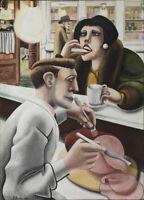 The Snack Bar : Edward Burra : 1930 : Archival Quality Art Print