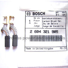 Bosch Carbon Brushes for PBH 16 RE Drill Genuine Original Part 2 604 321 905