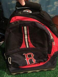 Boston Red Sox backpack school bag