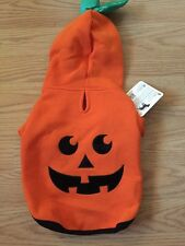 "BOOTIQUE Orange ""PUMPKIN"" Hoodie Puppy/Dog xsmall"