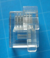 100 New Male Plugs / Connectors RJ12 6P6C for LEGO NXT EV3 with offset latch