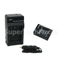 New Battery & Charger Combo Kit for Nikon EN-EL12 Coolpix S8100 S8000 S6300